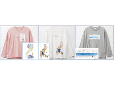 都内「イオン」13店舗「いわさきちひろ長袖Tシャツ」10月1日~販売