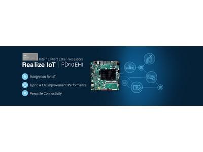 Intel Elkhart Lake を搭載、薄型産業用Mini ITX 【PD10EHI】