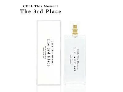 香水フレグランス通販サイト『PARFUM de EARTH』 から、オリジナル大人気香水CELL This Moment The 3rd Place発売!楽天香水ランキング初登場第1位!