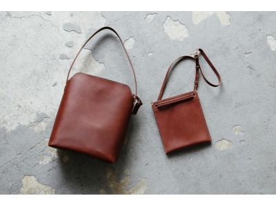 """【土屋鞄】ミニマリストが増えている今だからこそ。""""持ち歩く"""" を楽しむ鞄、新発売。"""