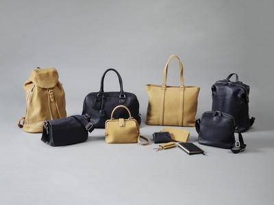 【土屋鞄】冬の夜空をイメージした、使うほど革の風合いが増す&タイムレスなデザインの20種類のレザーアイテムを限定発売。