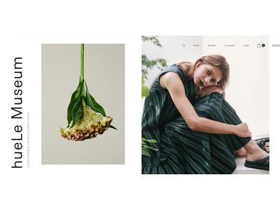 2021年春、Fashion× Flower× Art をコンセプトにした全く新しいデジタルキュレーション ECメディア、hueLe Museum( ヒューエルミュージアム ) がオープン