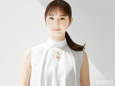 DAMIANI ベル エポック・クラウン キャンペーンヴィジュアルに佐々木希が登場