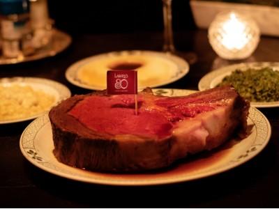 """【ロウリーズ・ザ・プライムリブ】LA本店開業80周年記念""""80th Anniversary Dinner""""800gプライムリブ"""