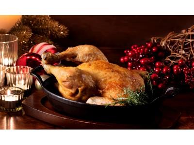 【クリスマス期間限定テイクアウト商品】ミシュラン星レストランのクリスマスケーキとこだわりのローストチキン