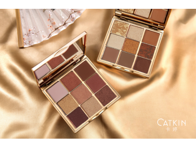 中国コスメブランド「CATKIN(キャットキン)」から、日本限定色のアイシャドウパレットが登場!発売を記念したプレゼントキャンペーンを実施!