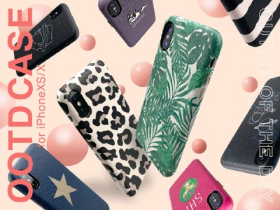 "【iPhoneXS/X】UNiCASE人気シリーズ""OOTD CASE""に新作誕生♪オンラインストアで予約販売開始!"