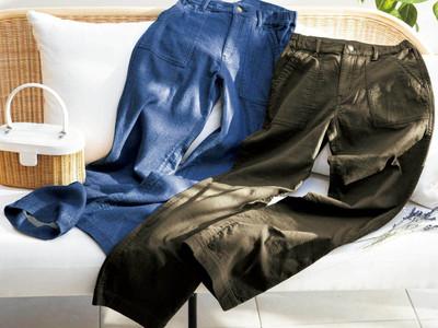 昨年大好評のやわらかガーゼパンツがより動きやすく! セシール【二重織りガーゼで作った夢心地パンツ】が4月リニューアル