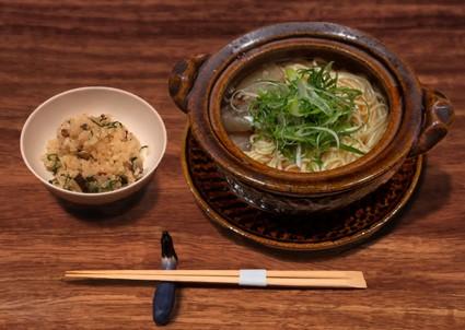 恵比寿「なすび亭」にてすっぽんラーメンとすっぽん炊き込みご飯のセットを月1回20名限定で提供!