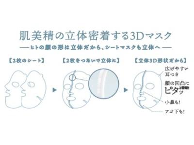 「肌美精 超浸透3Dマスク(冬)」数量限定発売!~濃厚ミルク美容液でもっちり弾む肌へ~