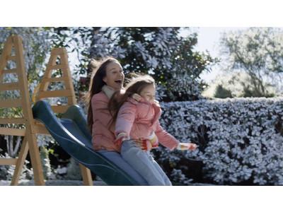 2人のレディーを美しく。おとなと子どもが一緒に使えるヘアケア「ma&me Latte(マー&ミー ラッテ)」新CM「滑り台」篇12月1日から放映!