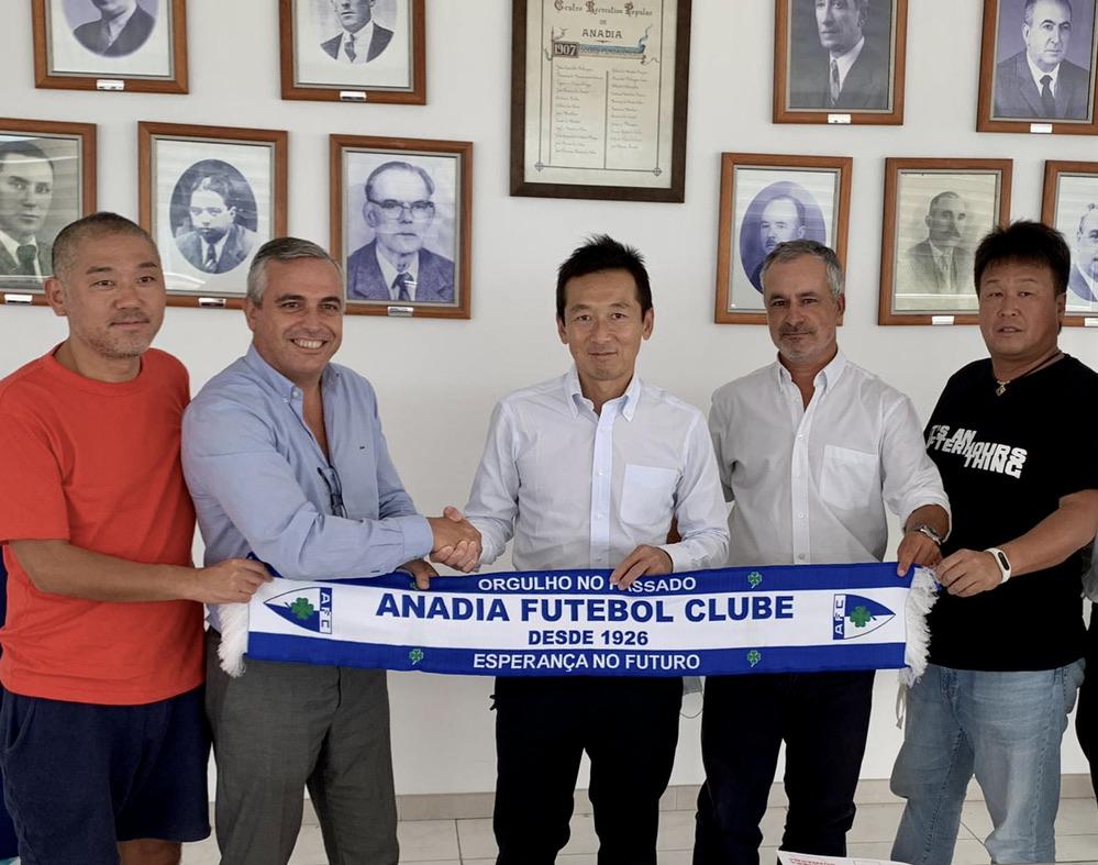 ポルトガルサッカークラブ「AnadiaFC」の経営権を獲得