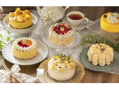 【冷凍ケーキのイメージが変わる!】*京都祇園の洋菓子店が展開する季節の冷凍ケーキ便*毎月ご自宅にお届けします!