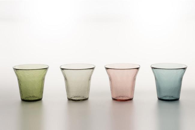 「生涯を添い遂げるグラス タンブラー(津軽びいどろ)」が7月29日発売開始