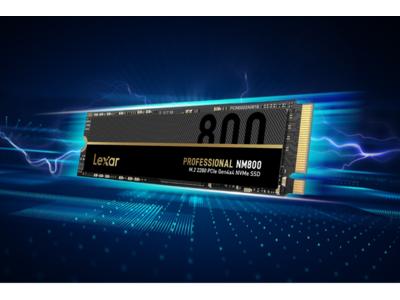 「Lexar」、最大7,400MB/sを達成したPCIe 4.0対応SSD「Lexar Professional NM800」シリーズ