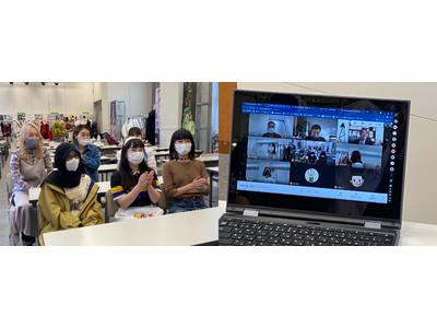 【大阪文化服装学院 × Cutie Blonde】学生クリエイター6 名とワールドグループが産学連携。若い感性と遊び心あふれたイラストTシャツが、間もなく商品化!