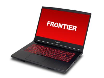 【FRONTIER】NVIDIA GeForce RTX 3060 Laptop GPU搭載ゲーミングノートPC≪XNMシリーズ≫新発売