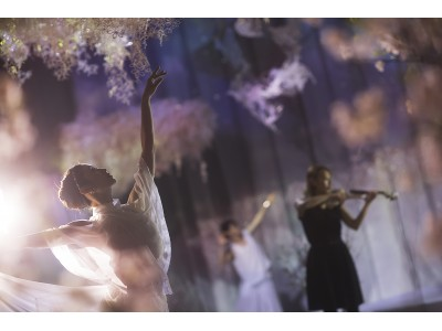 花の最新アート×ライブ×ショーで、日本一早いお花見
