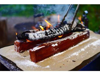 仄かに薪火の香りを纏った、大人のキャラメルケーキ  「MAKIBI cake」を新発売