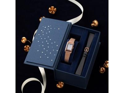 腕時計のセレクトショップ「TiCTAC」から、オリジナルブランド「SPICA」の2019ホリディ限定モデルを発売。