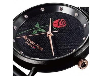 英国発「VICTORIA・HYDE LONDON」(ヴィクトリア・ハイド ロンドン)から、薔薇の刺繍が美しい新作「ENGLISH ROSE(イングリッシュローズ)」登場!