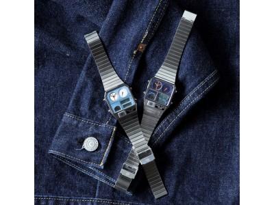 腕時計のセレクトショップ「TiCTAC」では、オリジナルブランド『Movement in Motion』の新作『アナデジテンプ・デニム』をオンラインストア先行で発売します!