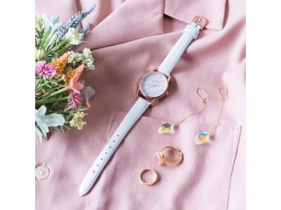 腕時計のセレクトショップ「TiCTAC」から、オリジナルブランド「SPICA」の新作「ラウンド ラグ」シリーズを発売。