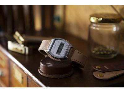 腕時計のセレクトショップ「TiCTAC」から、レザークラフトブランド「Brown Brown」との協業による腕時計「Lo-Fi Digital」を発売!