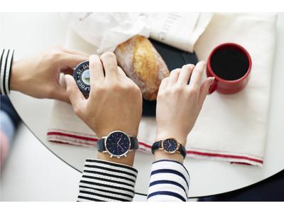 腕時計のセレクトショップ「TiCTAC」から、<アニエスベー>ウオッチの別注ペアモデルを発売!