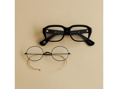 アイウェアセレクトショップ「POKER FACE(ポーカーフェイス)」より、金子眼鏡が擁する鯖江の職人眼鏡のアーカイブを復刻した限定モデルを発売。