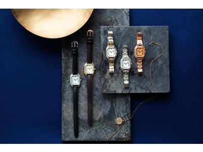 腕時計のセレクトショップ「TiCTAC」から、オリジナルブランド「SPICA」の新作「オクタングル」シリーズを発売。