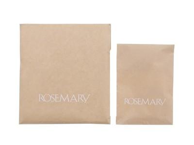 コスメ専門店「ROSEMARY」は、地球環境に配慮した取り組みとしてポリエステル製の包装資材を廃止し、2021年7月1日(木)からショッピングバッグの無料提供を終了いたします。