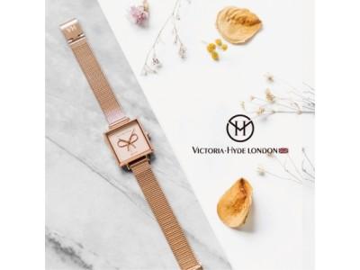 イギリスの腕時計ブランド「VICTORIA・HYDE LONDON」(ヴィクトリア・ハイド ロンドン)日本上陸!