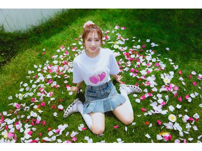 HKT48矢吹奈子と韓国の大人気ブランドKIRSHのコラボレーションアイテム販売決定!