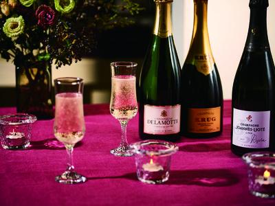 この時期のお祝い事を華やかに彩る!三越伊勢丹のバイヤーが厳選したワイン・日本酒がラインナップする「冬のリカーセレクション」を11月7日(土)より開催。