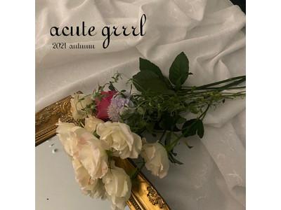 伊勢丹新宿店で「acutegrrrl 2021 autumn」を開催!〈theVirgins〉の限定アイテムなど、きゅんが止まらないラインナップをご紹介