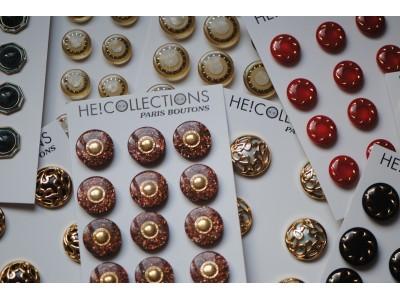 <エリック・エベール>ボタンアクセサリーコレクション