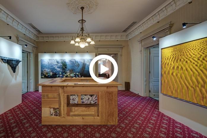 イタリア国立オリンピック委員会公式ホスピタリティハウス『Casa Italia(カーサイタリア)』のアート作品を紹介する映像公開