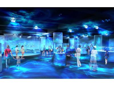 """世界のどこにもない世界が神戸に10月29日誕生する!アートといきものたちが融合する新感覚水族館""""atoa..."""