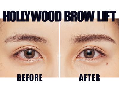今やりたい眉毛「No.1」眉毛パーマの進化版、日本のアイブロウ業界に大革命!SNSで話題沸騰の次世代アイブロウ「HOLLYWOOD BROW LIFT(ハリウッドブロウリフト)」