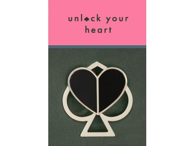 """ケイト・スペード ニューヨークは、スペードモチーフの新アイコンをフィーチャーした″unlock your heart""""キャンペーンをスタート"""