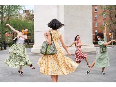 ケイト・スペード ニューヨークは、 New Yorkのストリートで弾ける喜びの連鎖を表現したsummer 2021キャンペーンを発表