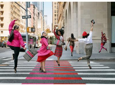ケイト・スペード ニューヨークは、 New Yorkのストリートで弾けた喜びとカラーの連鎖を喚起するfall 2021キャンペーンを発表
