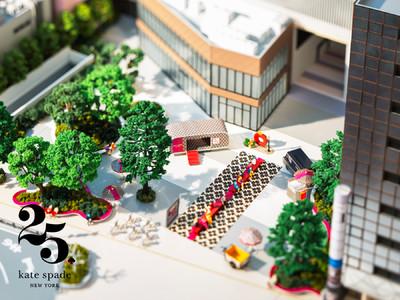 ケイト・スペード ニューヨークは、日本上陸25 周年アニバーサリー企画の第二弾、バーチャルインスタレーション 「スペード フラワー スクエア」をスタート