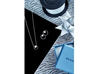 「SKAGEN(スカーゲン)」より、フェミニンなSterling Silver(スターリングシルバー)のジュエリーコレクションが発売