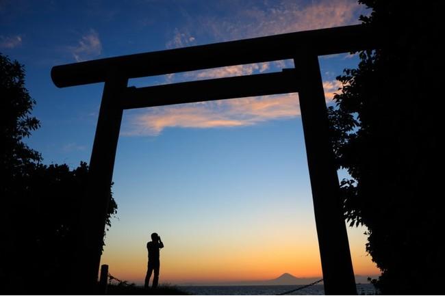 館山だって富士山の名所。海×富士山ショットを投稿してブランド和牛や宿泊券を貰おう!