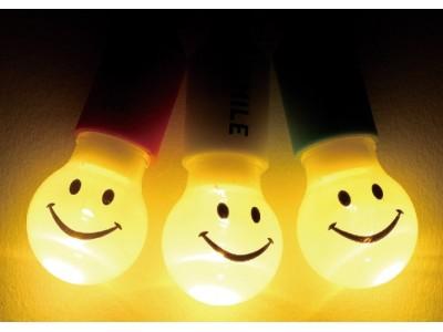 ちっちゃな灯りで、大きな安心・でっかい笑顔!