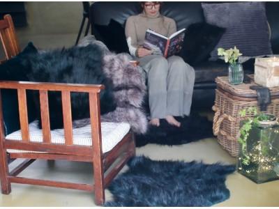 フェイクファー改めエコファーで、冬時間を暖かく豊かに過ごす。