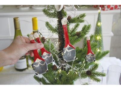 クリスマス用の小物集めは、毎年ワクワクする。ゲストをお迎えするための、今年のクリスマスオブジェと食器。
