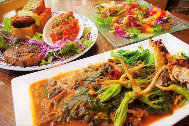 「旅行気分で、食べながら体験する大衆系SDGs」秋葉原の多国籍料理店が大豆ミートやスーパーフードを使った世界一周SDGsコースをスタート